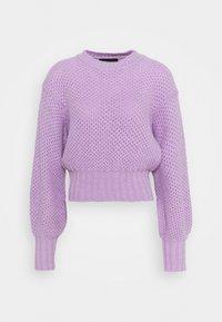 Sportmax Code - PEDINA - Sweter - lilac - 0