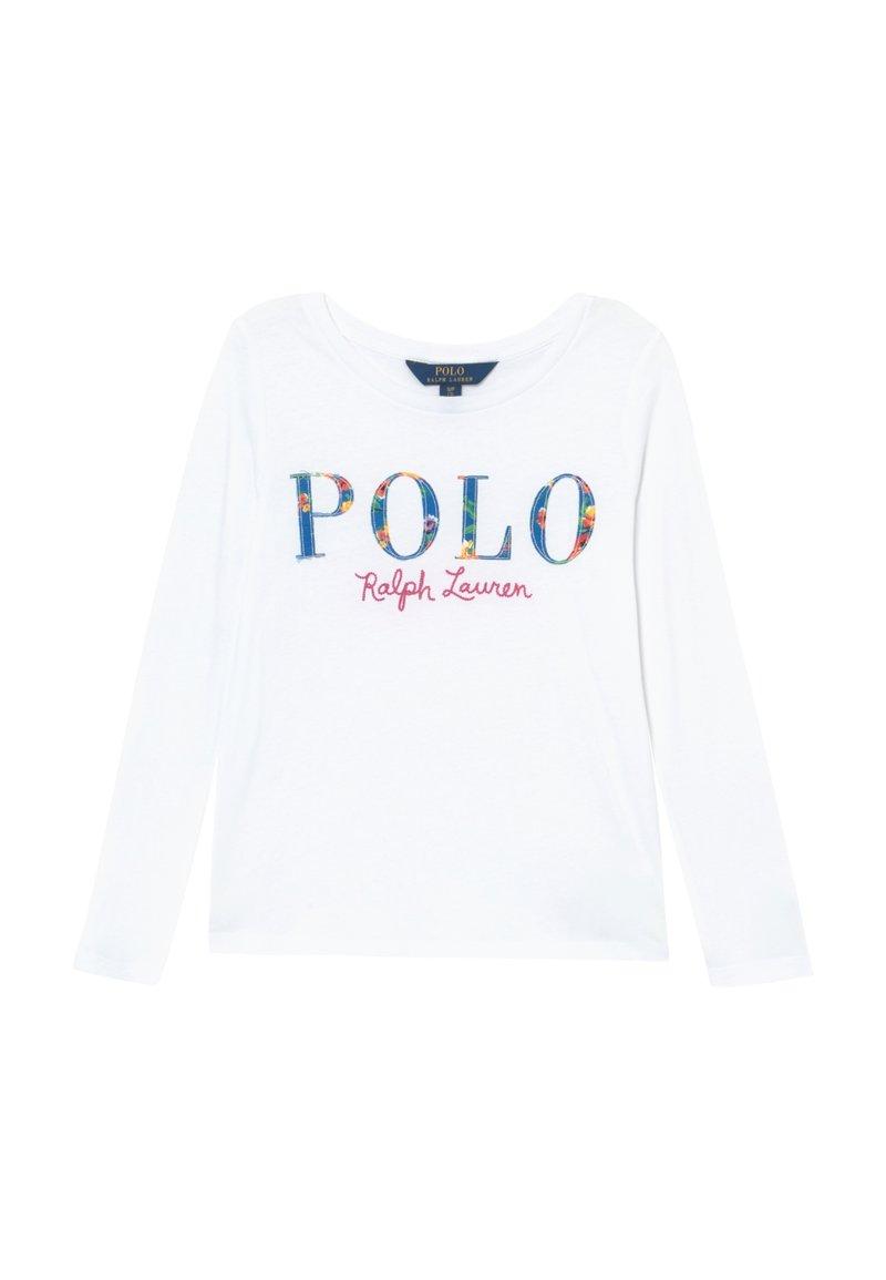 Polo Ralph Lauren - TEE - Top sdlouhým rukávem - white