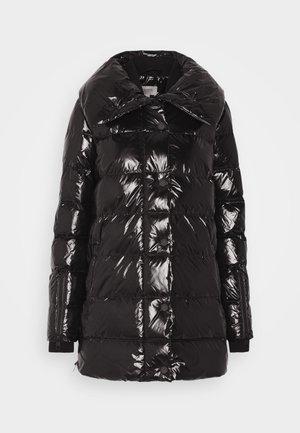 LANGARM - Down coat - black