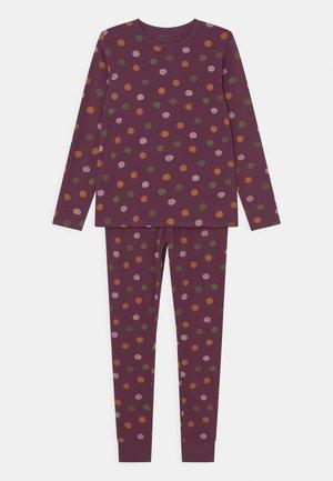 NKFNIGHTSET DOT - Pyjama - prune purple