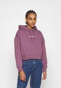 Dickies - LORETTO BOXY HOODIE - Sweatshirt - purple gumdrop - 0