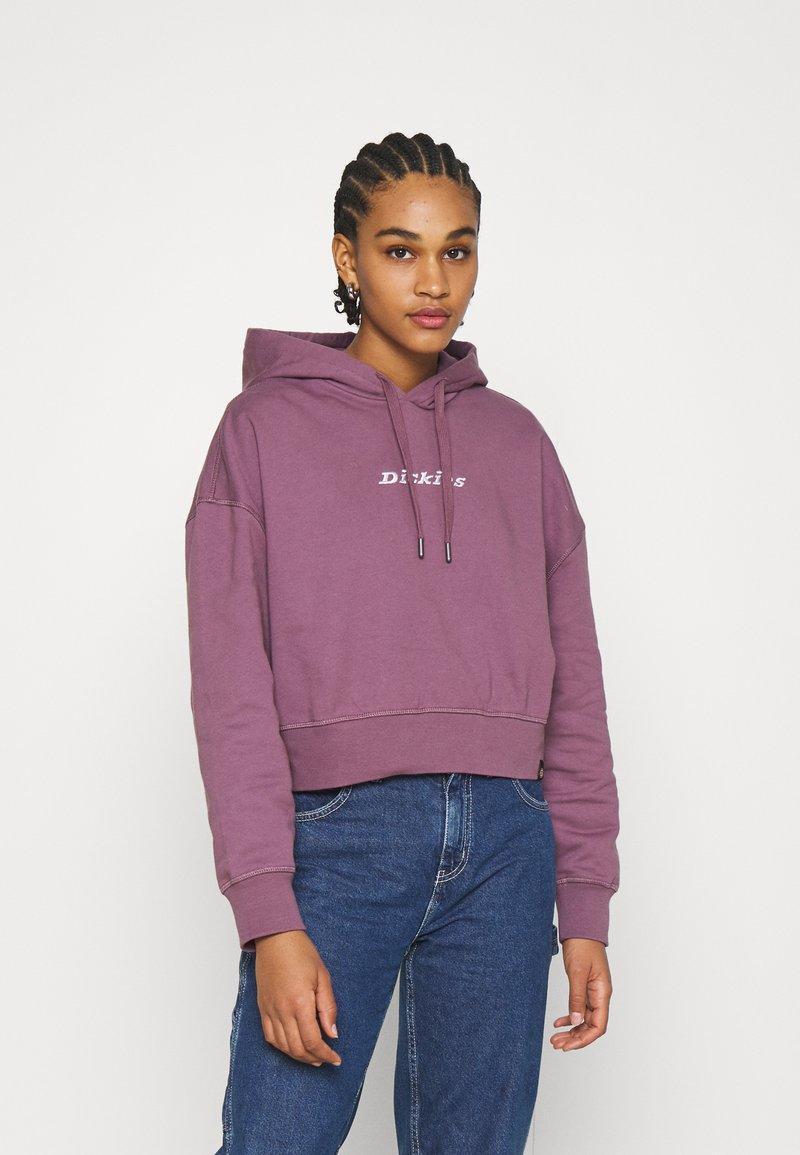 Dickies - LORETTO BOXY HOODIE - Sweatshirt - purple gumdrop