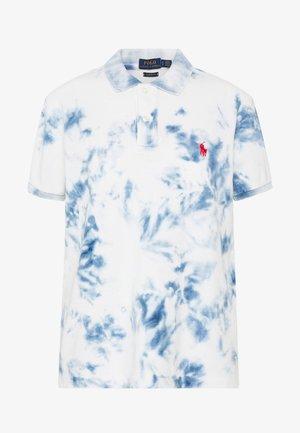 FIT SHORT SLEEVE KNIT - Print T-shirt - dark indigo