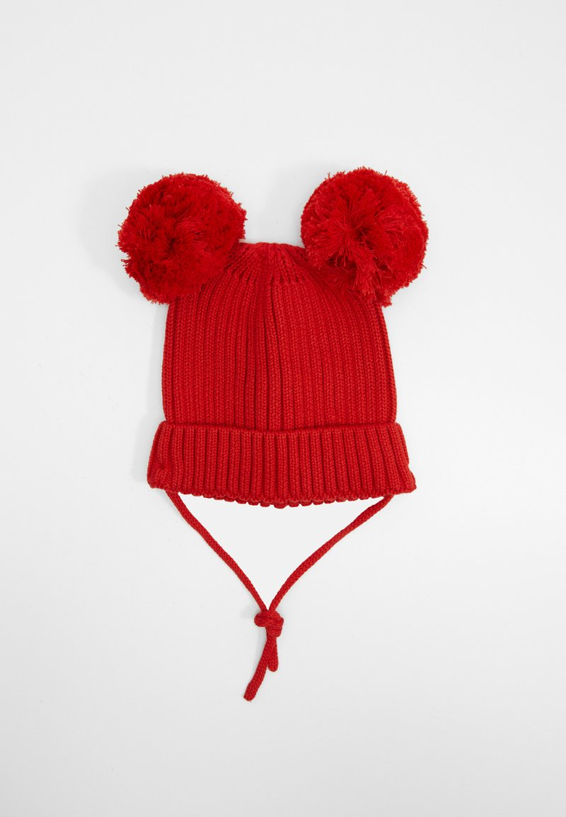 Mini Rodini - EAR HAT - Čepice - red
