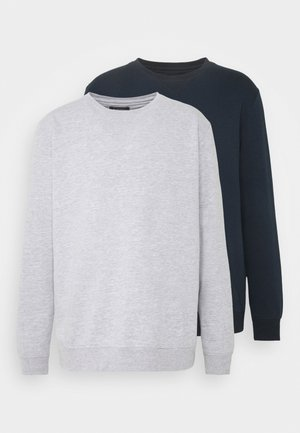 2 PACK CREW  - Sweater - navy