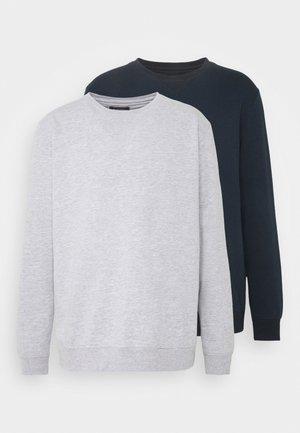 2 PACK CREW  - Sweatshirt - navy