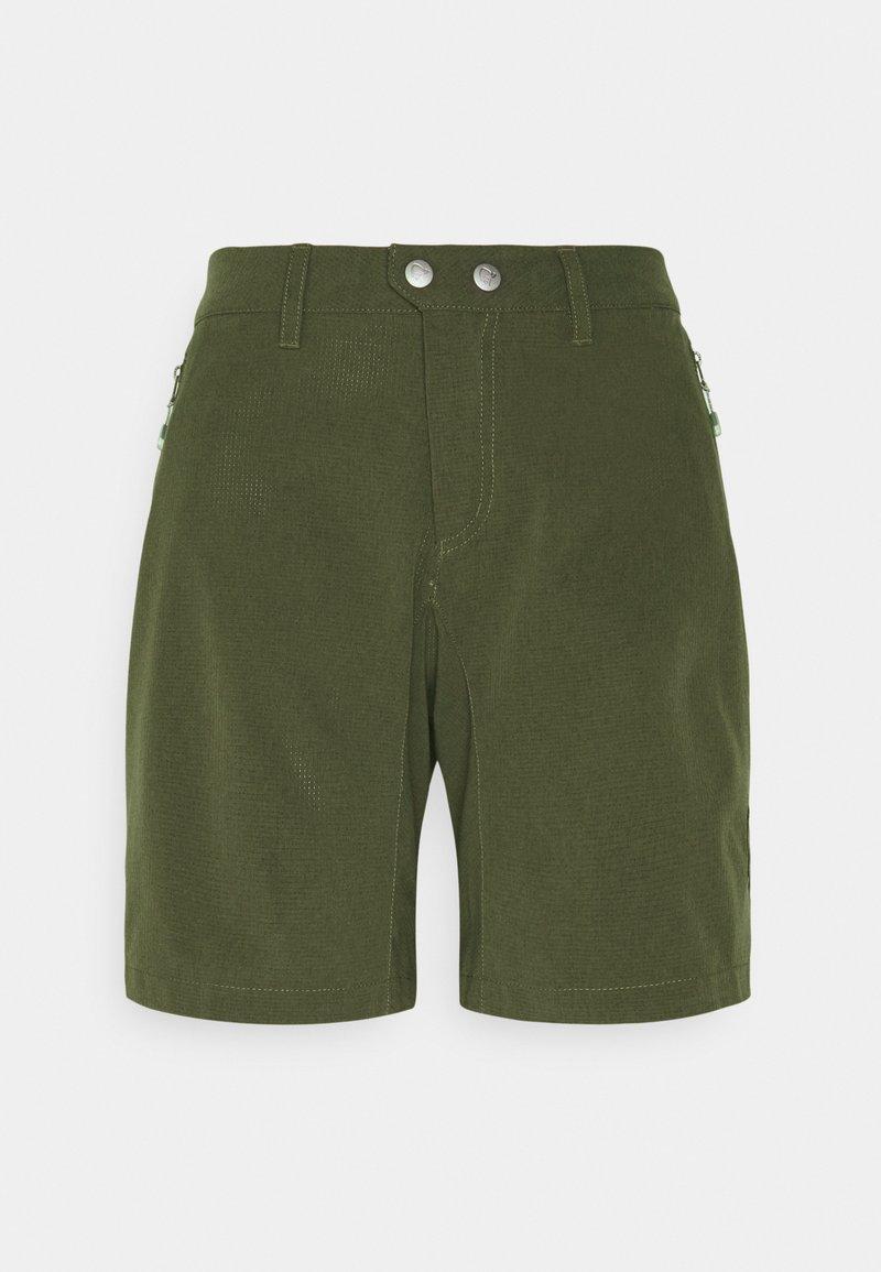 Norrøna - BITIHORN SHORTS - Shorts outdoor - olive night