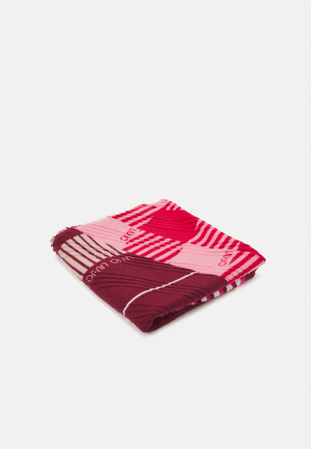 FOULARD COLOR BLOCK - Šátek - true red