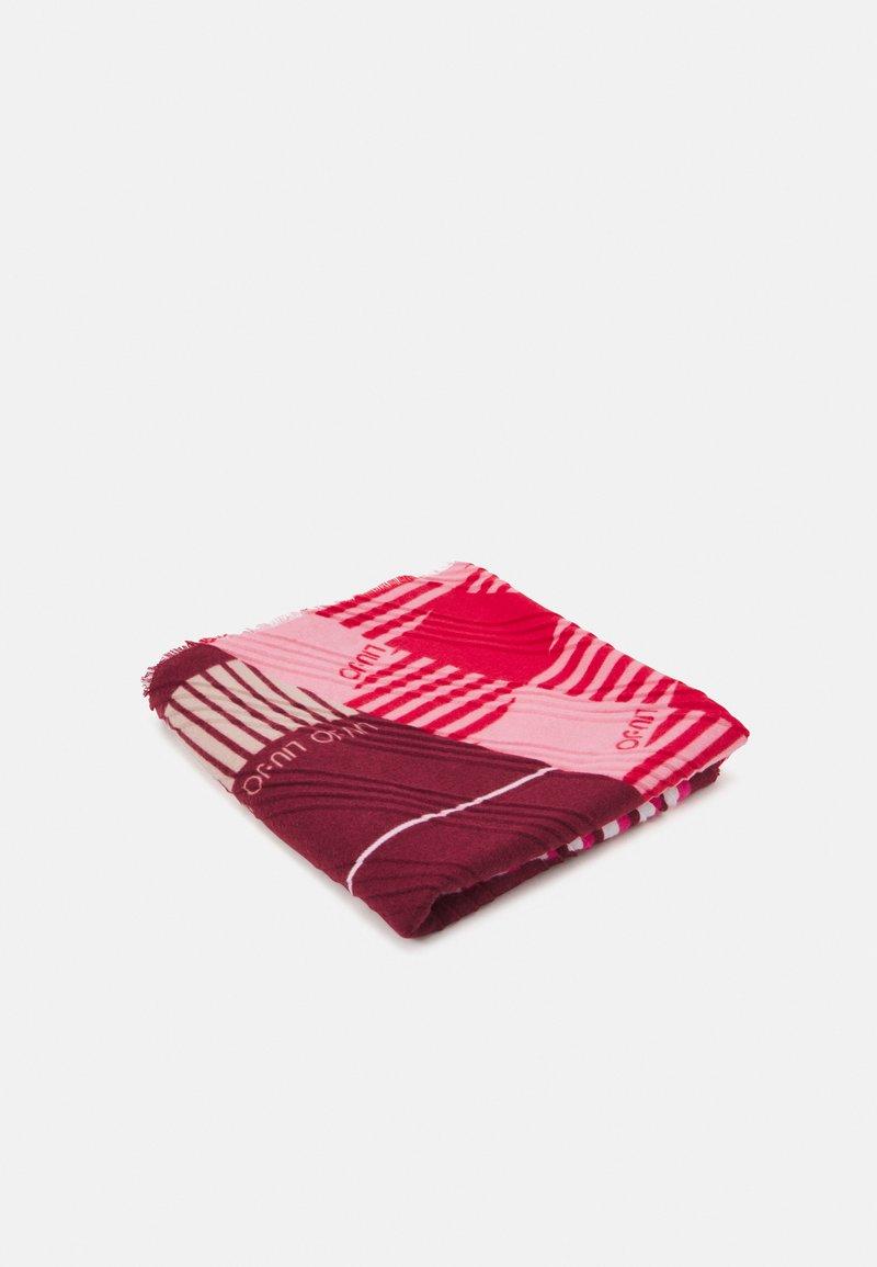 LIU JO - FOULARD COLOR BLOCK - Pañuelo - true red