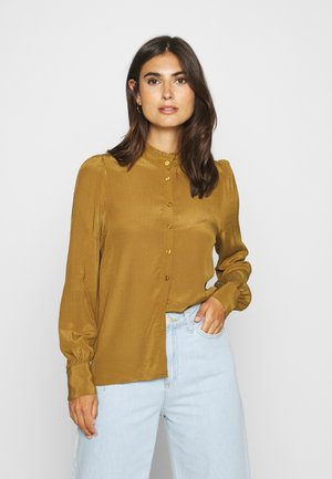 VILORA - Button-down blouse - breen