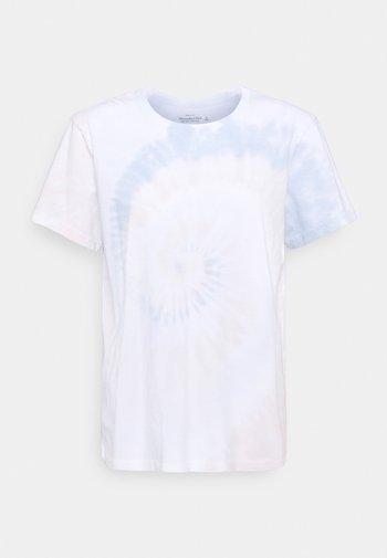 TEE WASH - Print T-shirt - beige