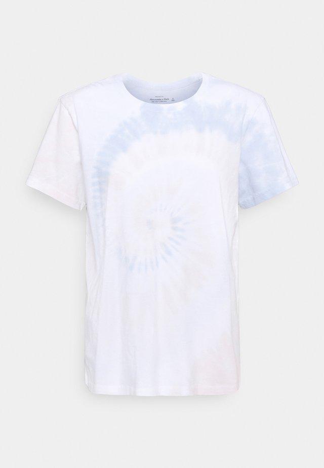 TEE WASH - T-shirt z nadrukiem - beige