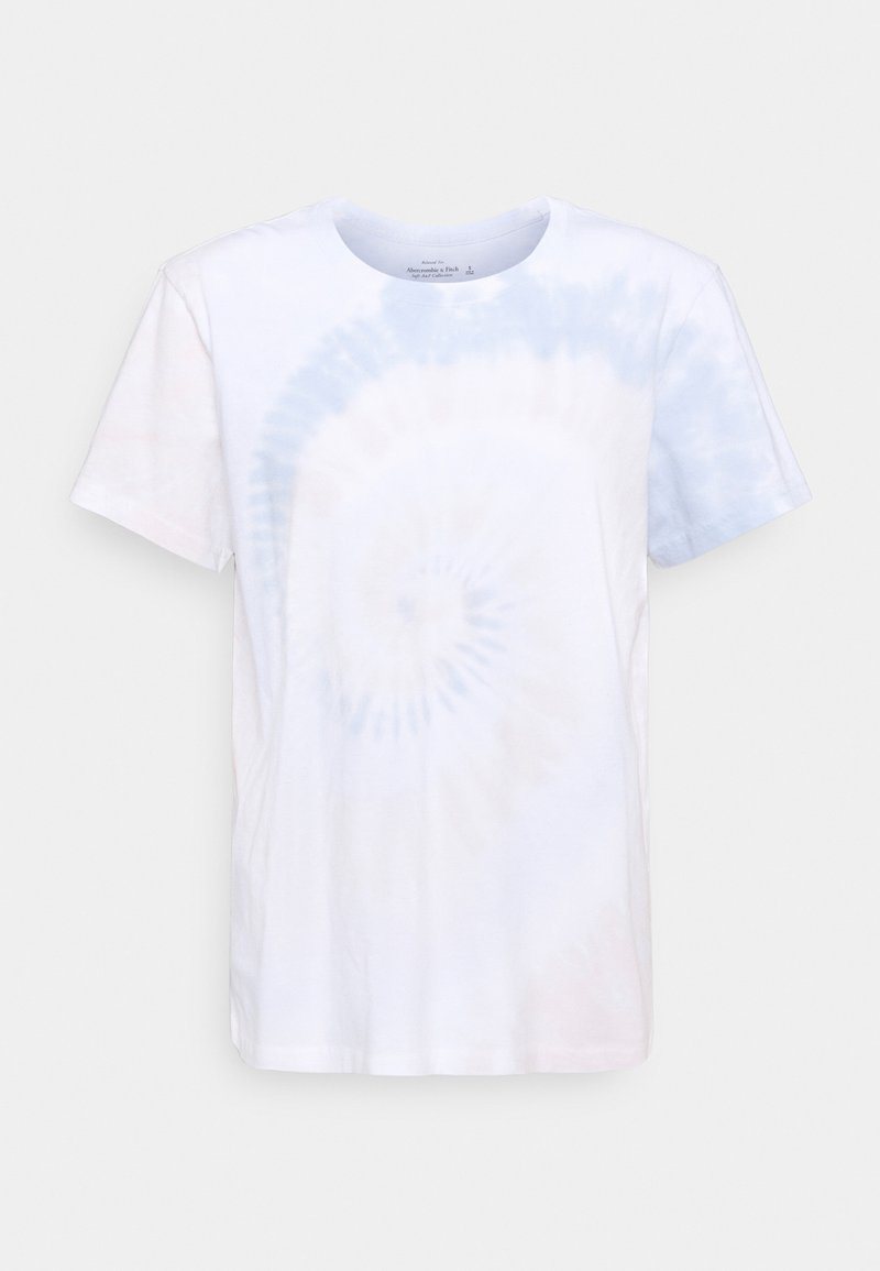 Abercrombie & Fitch - TEE WASH - Print T-shirt - beige