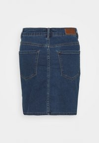 Vero Moda Tall - VMHOT SEVEN SKIRT 2 PACK - Mini skirt - medium blue denim/bright white - 2