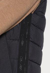 Calvin Klein - CRINKLE VEST - Waistcoat - black - 4