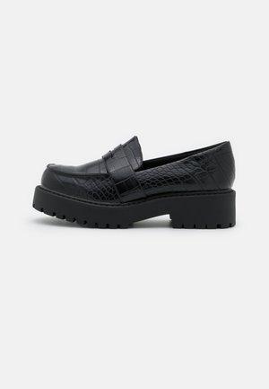VEGAN JUNE LOAFER - Slip-ins - black