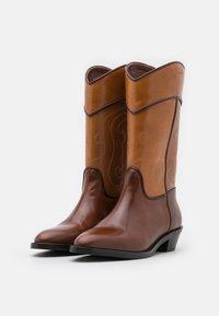 See by Chloé - DANY  - Cowboy/Biker boots - tan - 5