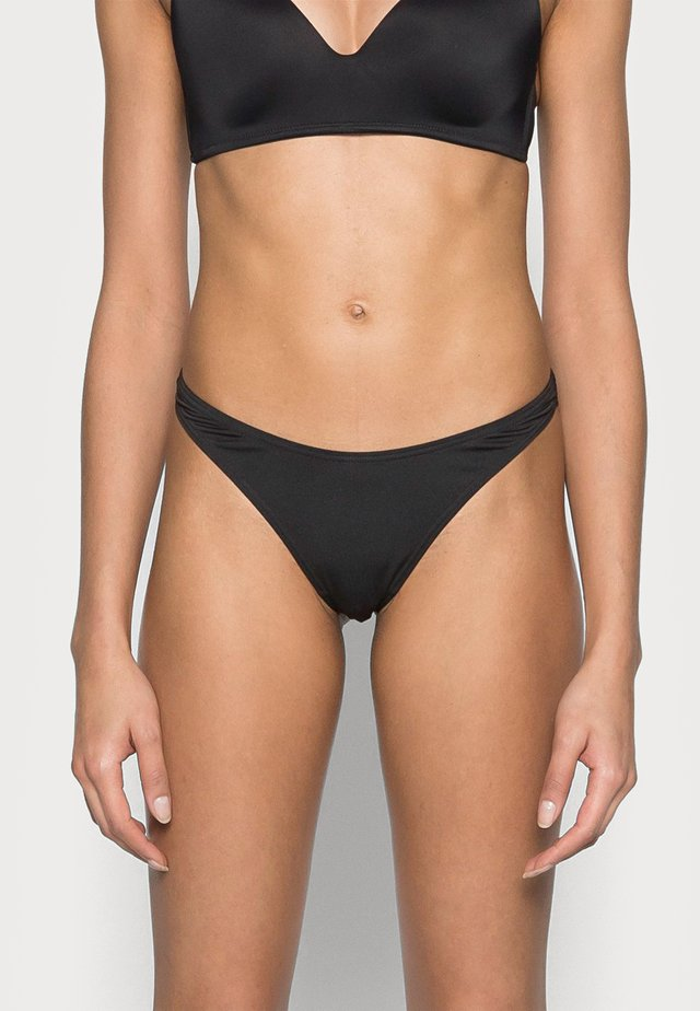 HANNA THONG 2 PACK - Perizoma - black