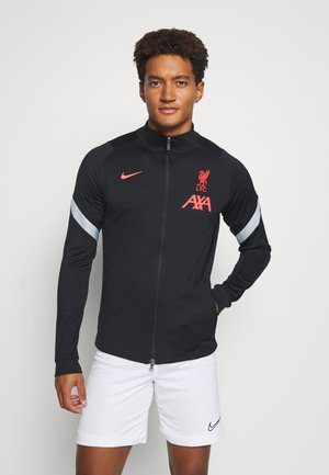 LIVERPOOL FC DRY - Club wear - black/wolf grey/laser crimson