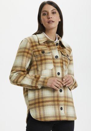 KALIROMA - Summer jacket - grey melange check