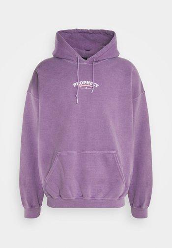 AIRBRUSH MYSTIC HOODIE UNISEX - Sweatshirt - purple