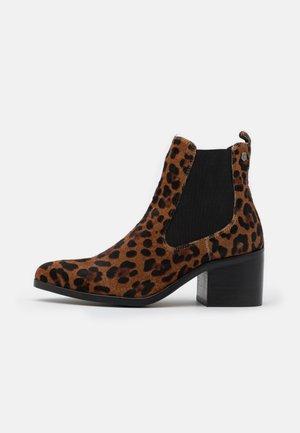 LEOPARD LADIES - Korte laarzen - brown