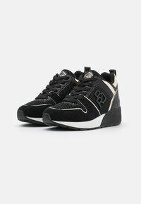 Replay - HENLEY - Sneakers basse - black - 5