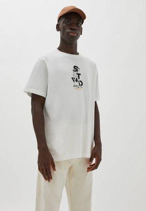 MIT STWD - Print T-shirt - white