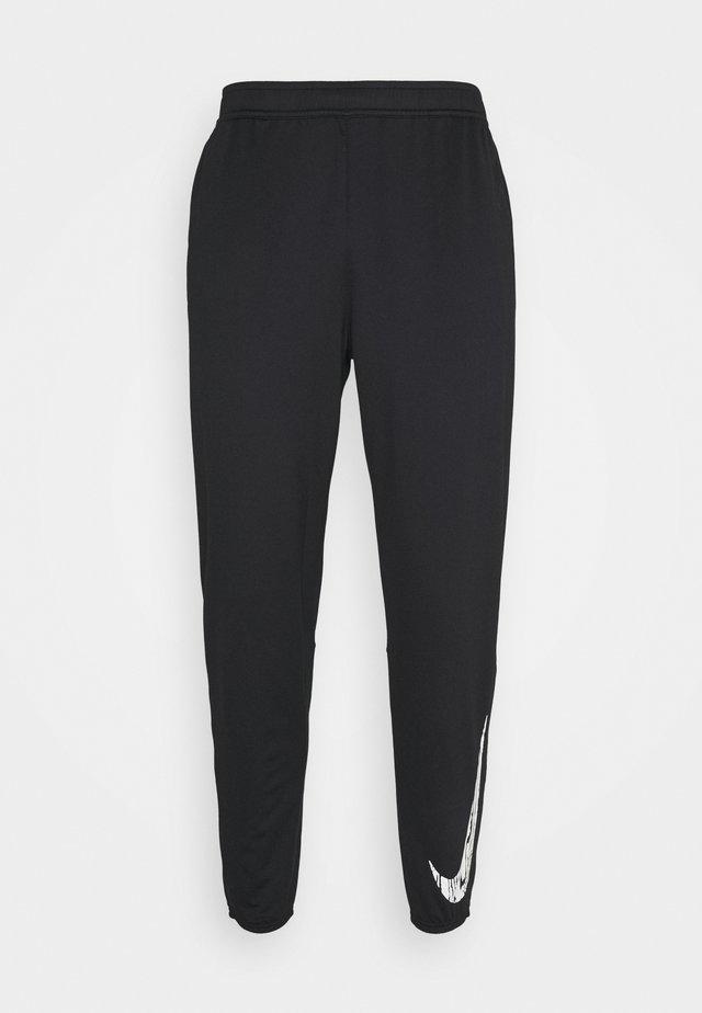 ESSENTIAL PANT - Pantalon de survêtement - black/reflective silver