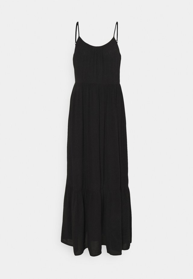 VIMESA STRAP MAXI DRESS - Maxi-jurk - black