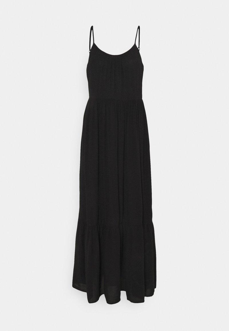 VILA PETITE - VIMESA STRAP MAXI DRESS - Maxi dress - black