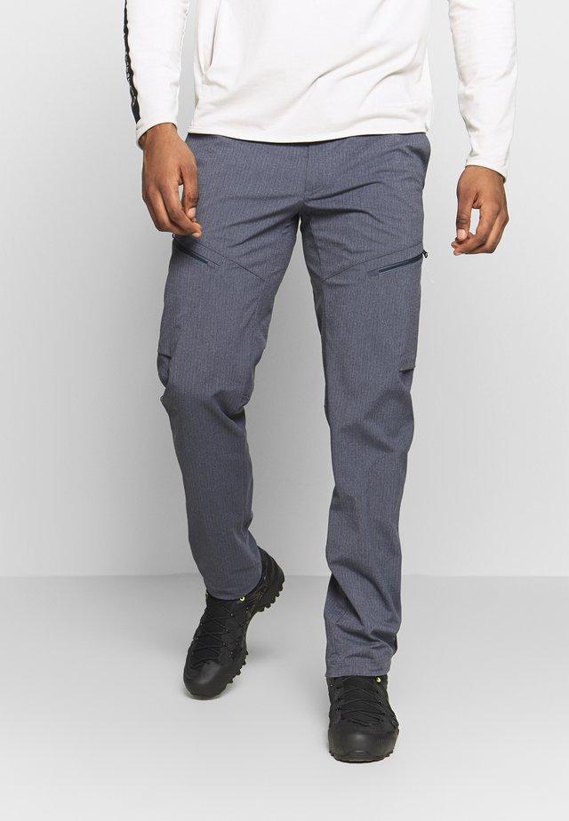 PUEZ CONCEPT - Pantalon classique - premium navy melange