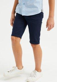 WE Fashion - Shorts - navy blue - 1