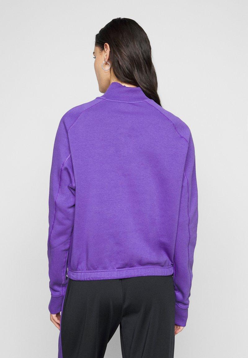 Fila Tall - MARCY HALF ZIP - Collegepaita - ultra violet