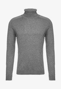 ROLL NECK - Trui - melange dark grey