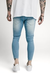 SIKSILK - DISTRESSED SUPER  - Skinny džíny - light-blue denim - 2