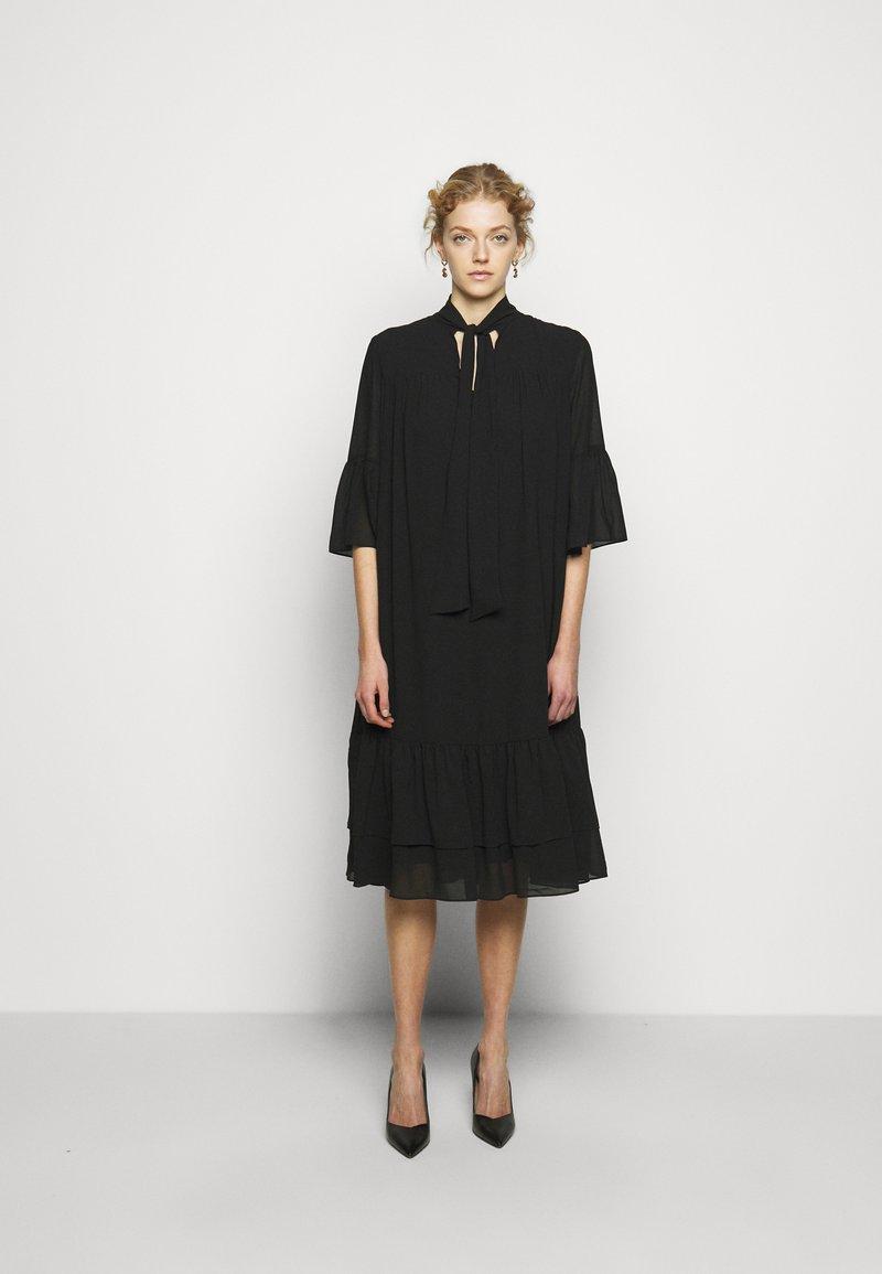 Bruuns Bazaar - AVIOR ROBIN DRESS - Day dress - black