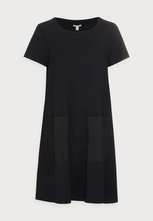 DRESS - Jerseykjole - black