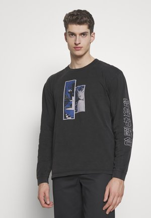 STRANGE FUSION - Long sleeved top - black