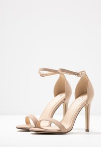 4th & Reckless - JASMINE - Sandalen met hoge hak - nude - 4