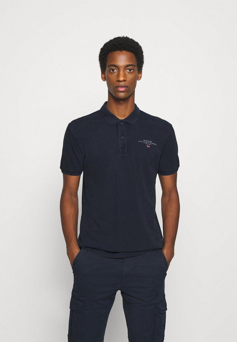Napapijri - ELBAS - Poloshirt - blu marine