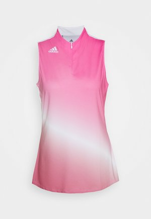 AEROREADY GRADIENT SLEEVELESS  - Funkční triko - screaming pink