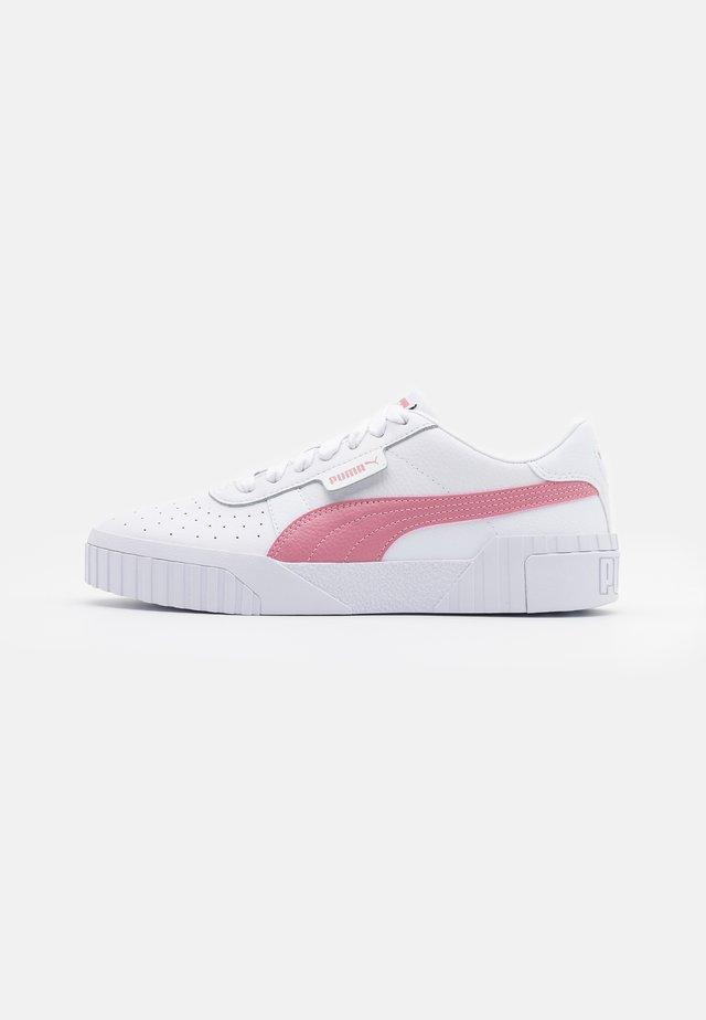 CALI  - Sneakers basse - white/foxglove/black