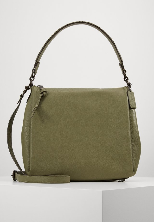 WHIPSTITCH DETAIL SHAY SHOULDER BAG - Handtasche - light fern
