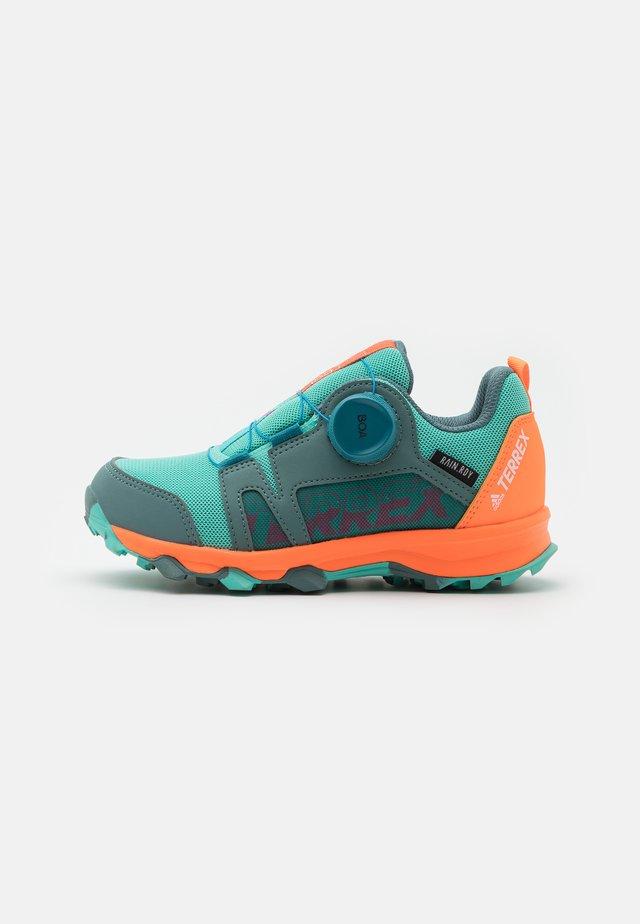 TERREX  AGRAVIC BOA R.RDY UNISEX - Hiking shoes - hazy emerald/acid mint/screaming orange