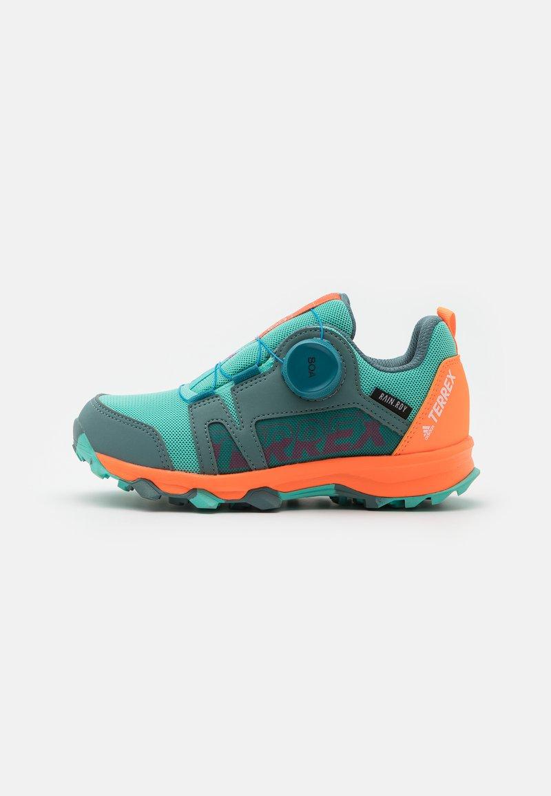 adidas Performance - TERREX  AGRAVIC BOA R.RDY UNISEX - Hiking shoes - hazy emerald/acid mint/screaming orange