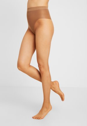 FLAT TUMMY TIGHT TEINT DE SOLEIL - Tights - terracotta