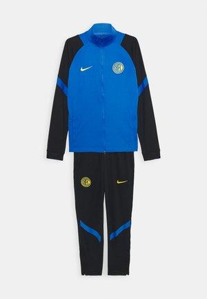 INTER MAILAND SUIT - Club wear - blue spark/black/tour yellow