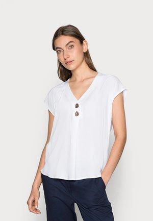 BLUSE ELIPSE - Camiseta básica - weiß