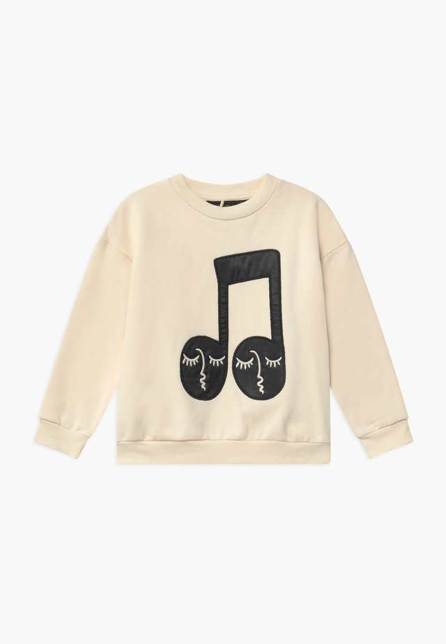 BABY NOTE PATCH  - Sweatshirt - offwhite
